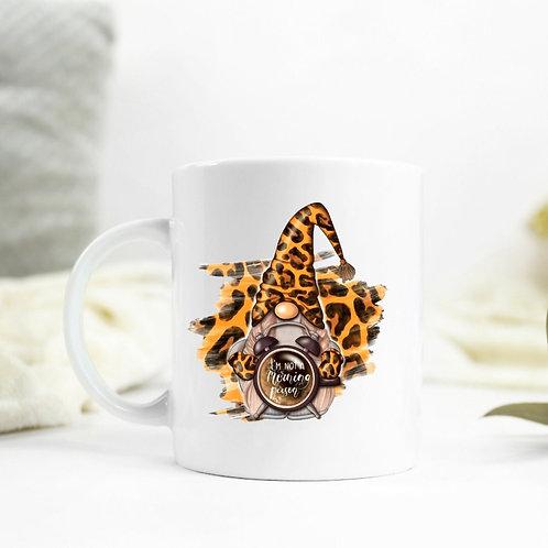 Leopard Print Gnome Mug