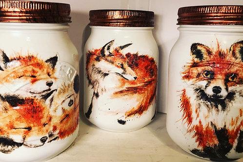 Fox trio 0.5L Jars