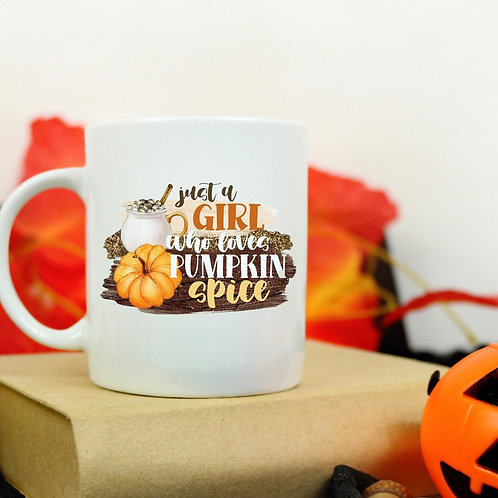 Just a girl who loves mug