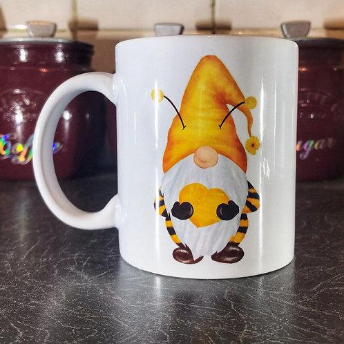 Bumble Heart Gnome Mug