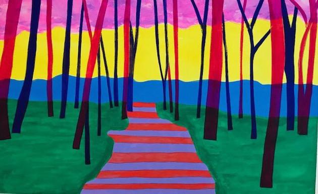Striped Path