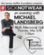 An evening with Michael Landsberg
