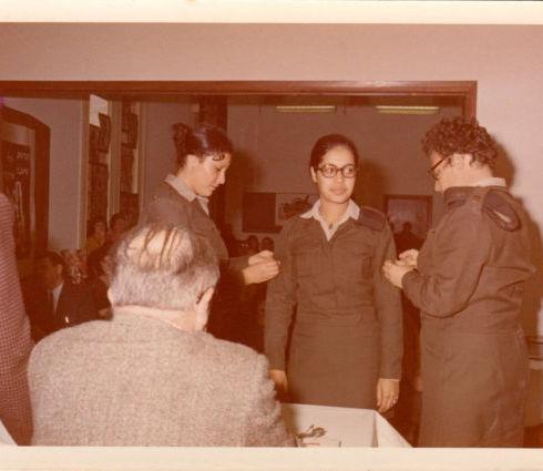 Daphna Levy Sargeant Stripes