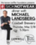 Dinner with Michael Landsberg
