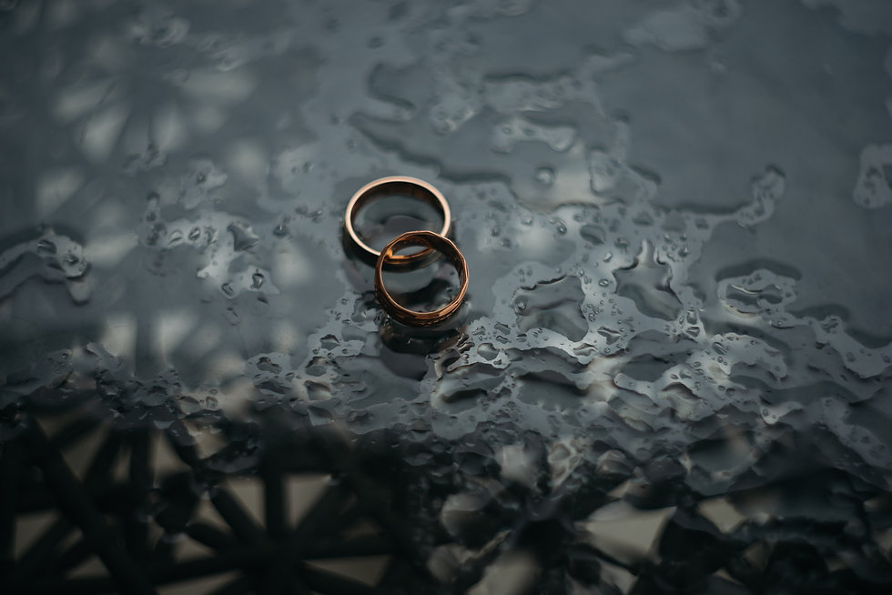 Pasadena Marriage Counseling - Rings In The Rain Image
