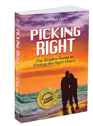 Picking Right - Book On Finding The Right Relationships By Daphna Levy