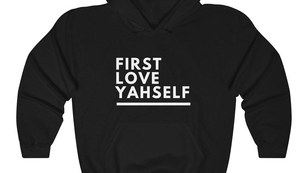 First Love Yahself Hoodie