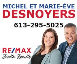 Michel et Marie-Eve Desnoyers