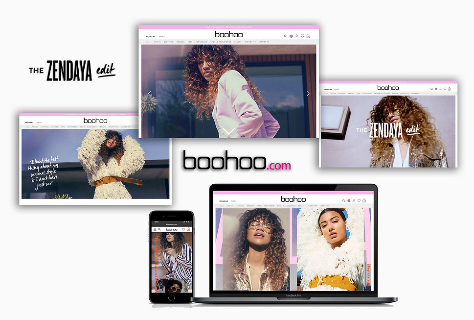 Zendaya Edit - Boohoo