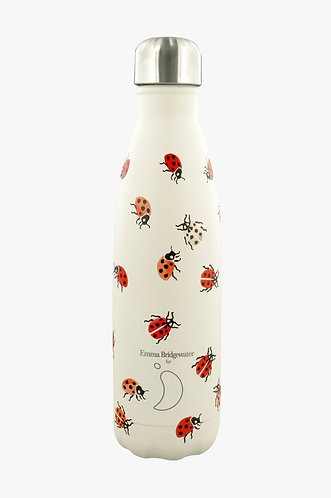 Ladybird Reusable Water Bottle 500ml by Emma Bridgewater for Chilly's