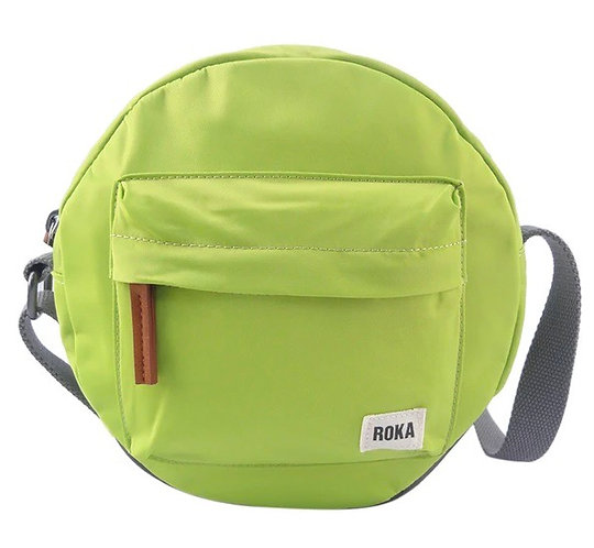 Lime Paddington B Crossbody Bag by Roka London