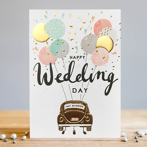 Wedding Card by Louise Tiler