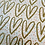 Thumbnail: Gold Glitter Hearts Gift Wrap Sheet by Caroline Gardner