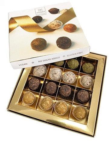 Luxury Vegan & Gluten Free Truffles Gift Box by Nouri