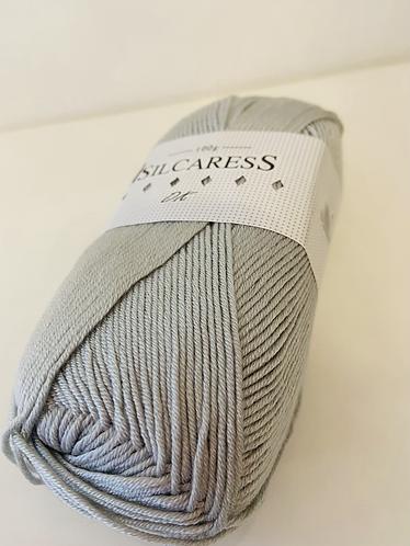 Silcaress Silky DK Yarn by Cygnet Yarns 2672 Pearl Grey