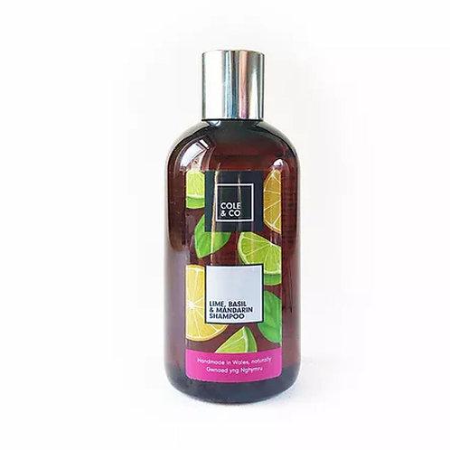 Lime, Mandarin & Basil Shampoo by Cole & Co