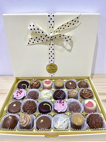 Rosie's Luxury Box of 24 Handmade Belgian Chocolates