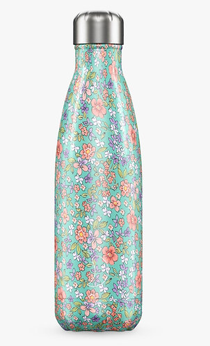 Floral Edition Peony 500ml Reusable Water Bottle by Chilly's