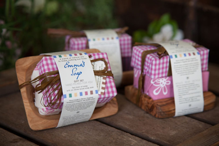 Organic Cocoa Butter Gift Set by Emma's Soap