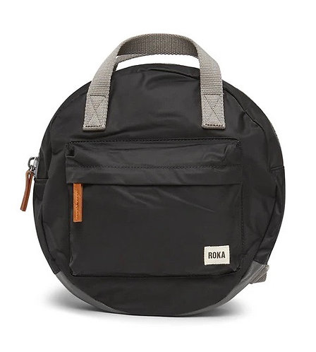 Black Paddington B Round Backpack by Roka