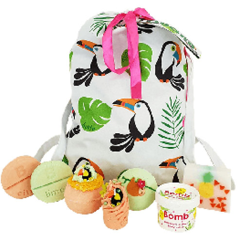 Toucan Play That Game Gift Bag By Bomb Cosmetics