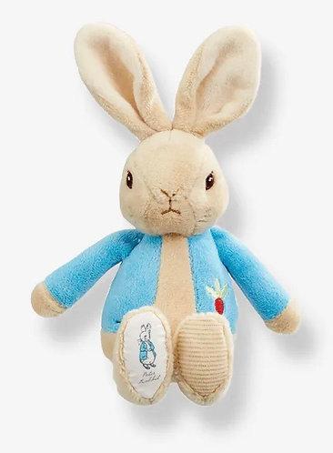 Beatrix Potter's Peter Rabbit Blue Rattle Toy