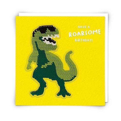 Roarsome Birthday Shine Card by Redback Cards
