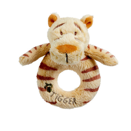 Winnie The Pooh's Tigger Baby Ring Rattle by Classic Disney