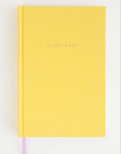 Sleep Journal in Yellow by Caroline Gardner