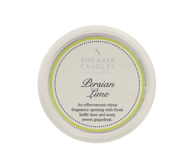 Persian Lime Wax Melt by Shearer Candles