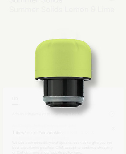 Lemon and Lime Mix and Match Lid By Chilly's