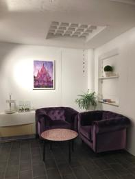 Lounge in violett