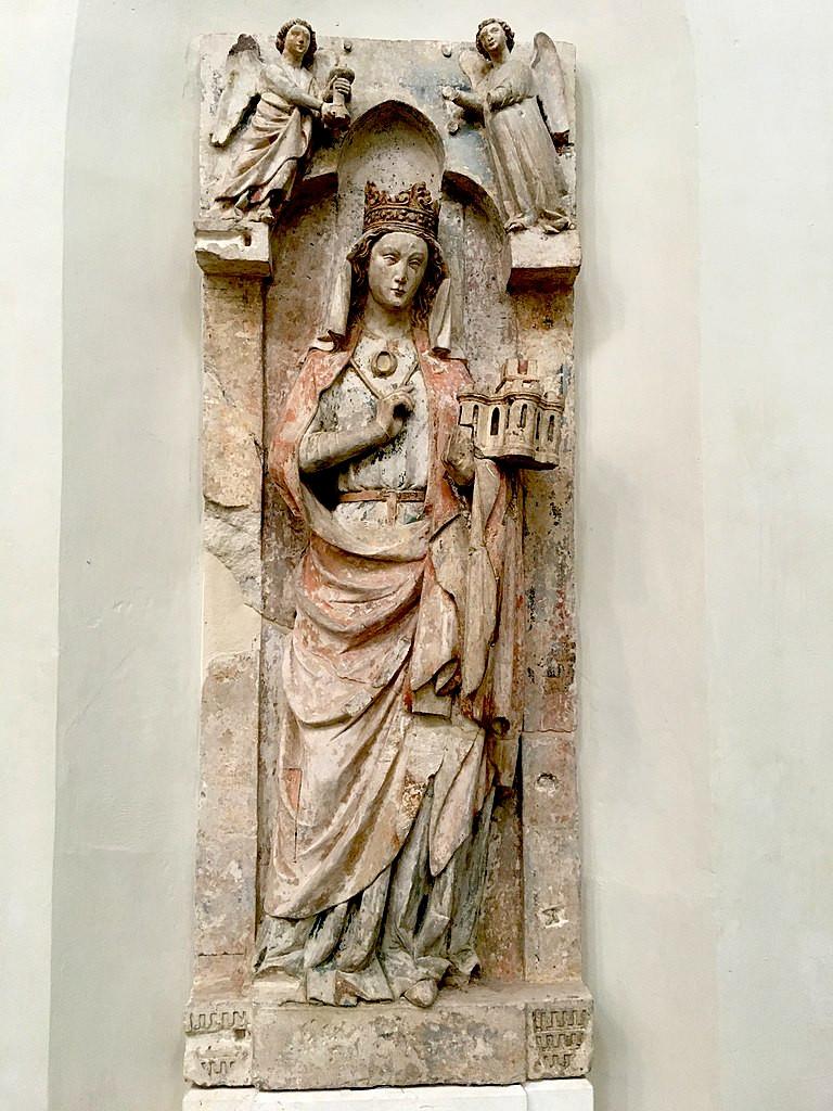 Wife of Pépin d'Herstal