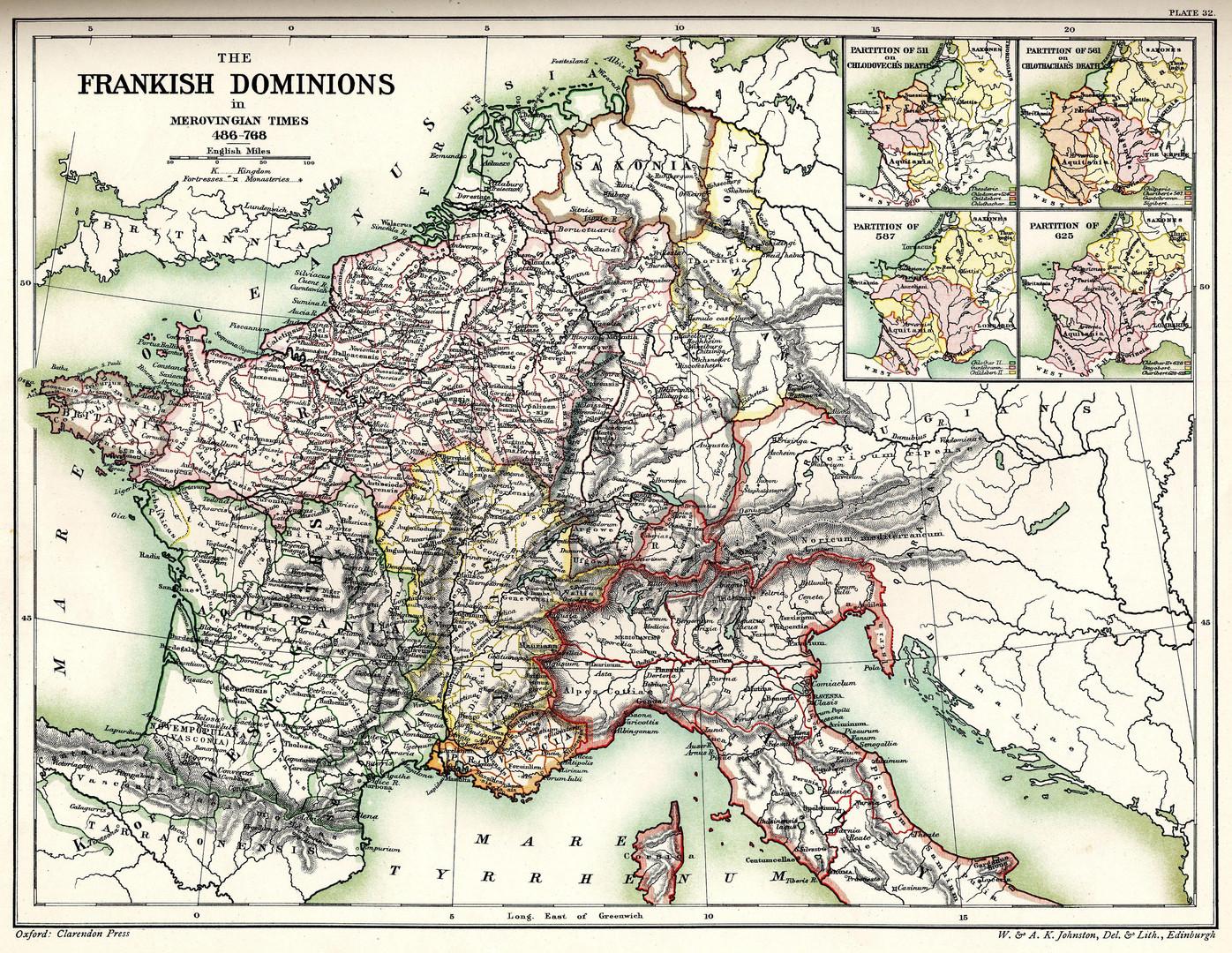 The Frankish Dominions
