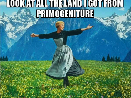 Thoughts on the End of a Season (Part 1.3) – Primogeniture (Or Lack Thereof)