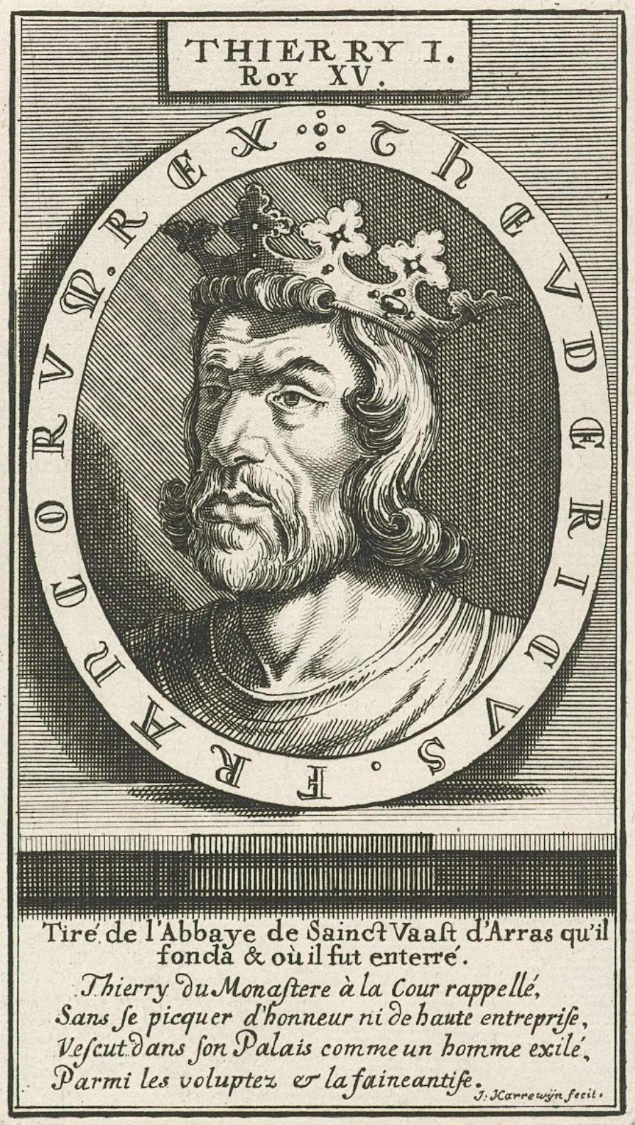 Theuderic - eldest son of Clovis, stepson of Clotilde