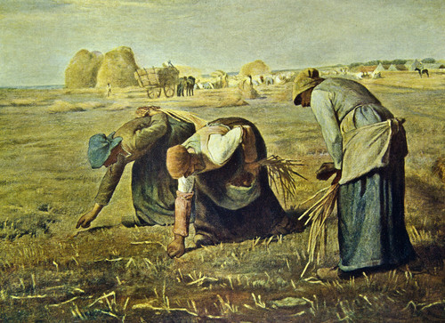 The Gleaners. Jean Francois Millet. 1857. Oil on canvas.