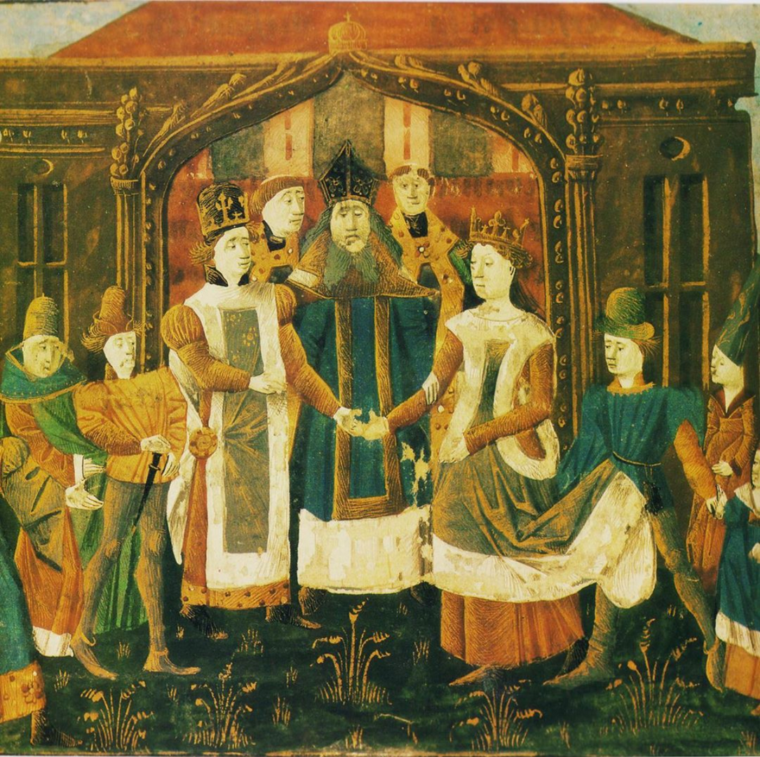 Marriage of Chilperic and Galswintha