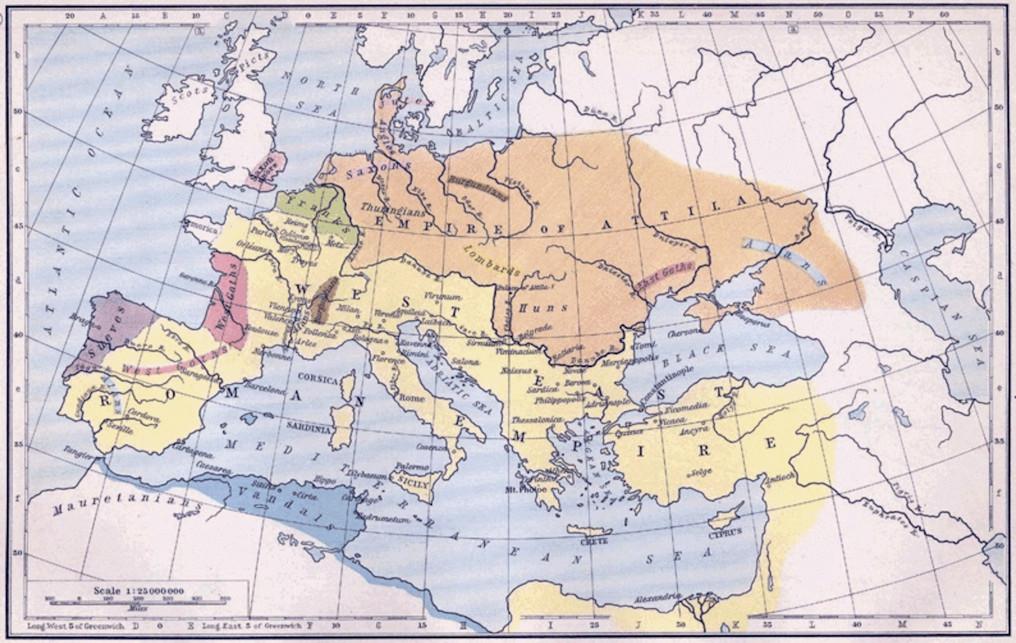 Attila's Empire