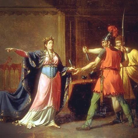 Fredegunda arms her assassins