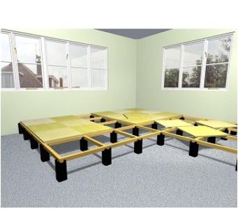 Full access flooring