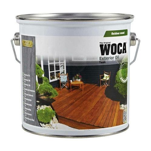 WOCA Terrace oil 'Teak' 2.5 Ltr