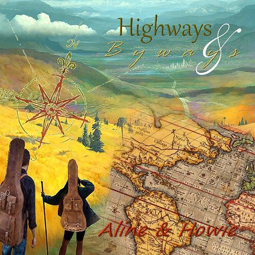 HIGHWAYS & BYWAYS CD includes shipping