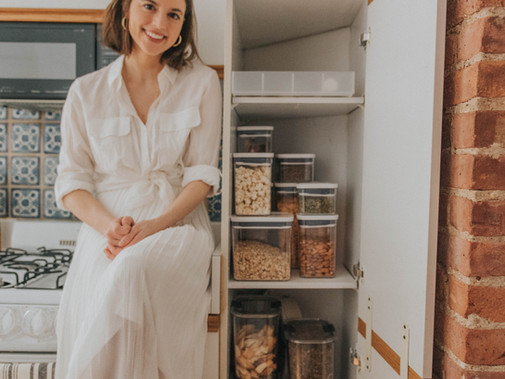 Reorganizing my NYC kitchen with Bed Bath & Beyond