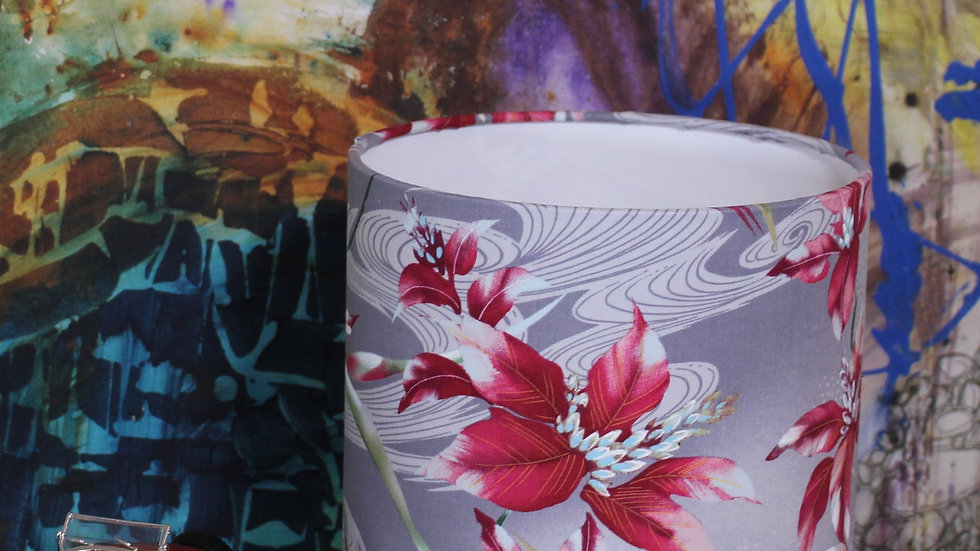 Pink Lilies Lampshade