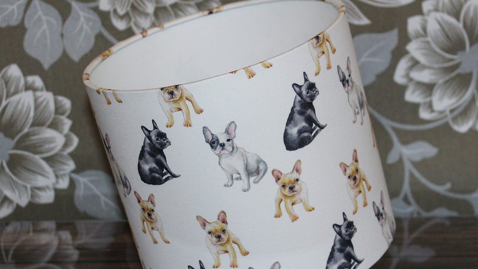 Frenchie Delight Handmade Lampshade