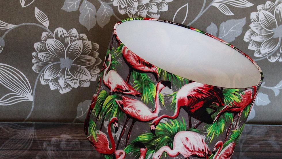 Flamingo Festival Handmade Lampshade 20cm 25cm 30cm Drum