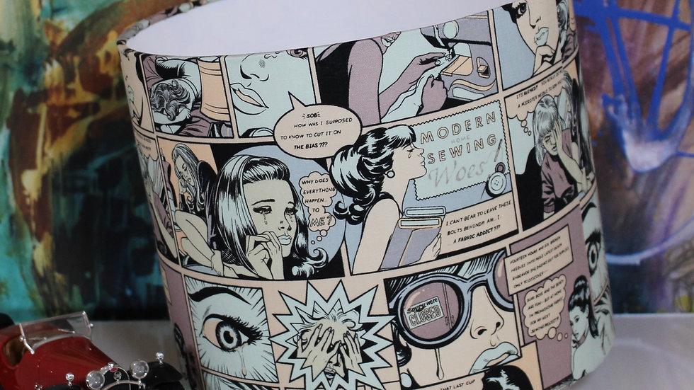 Handmade Comics Lampshade
