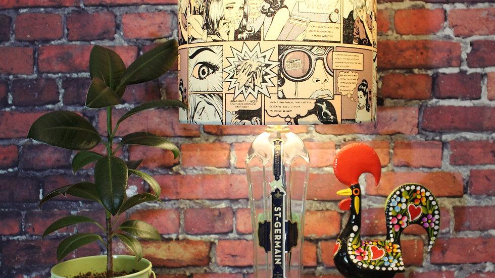 St Germain Liqueur - Handmade Bottle Lamp