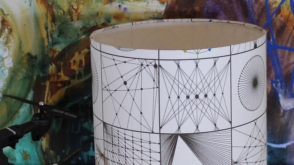 Geometric Madness Lampshade